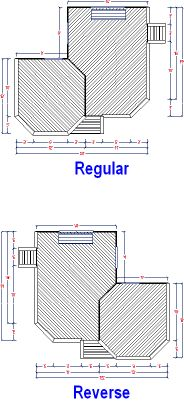 Decksusa L Shaped Deck Plans For The Home Pinterest