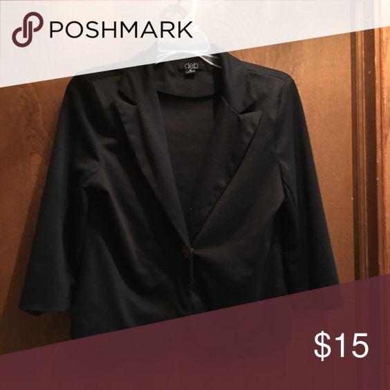 Selling this Deb Blazer on Poshmark! My username is: clearelore. #shopmycloset #poshmark #fashion #shopping #style #forsale #Deb #Jackets & Blazers