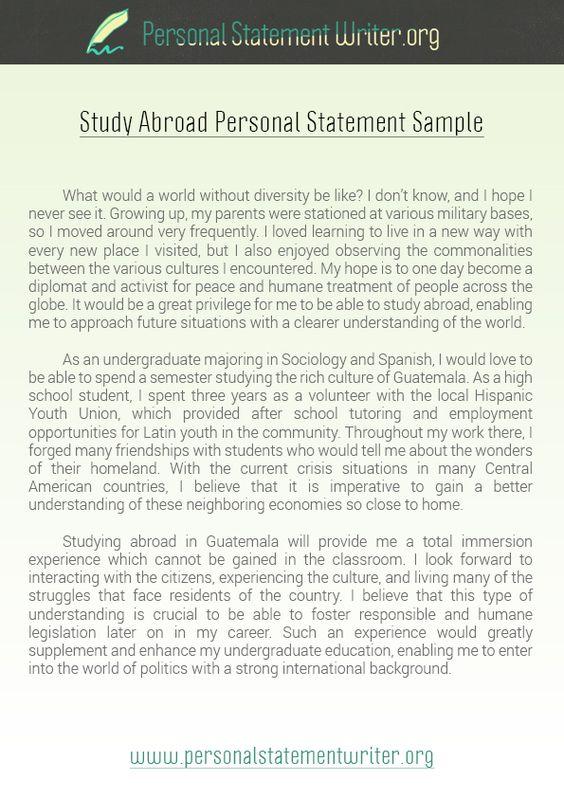 Unique Short Personal Statement Examples http\/\/www - examples of personal statements