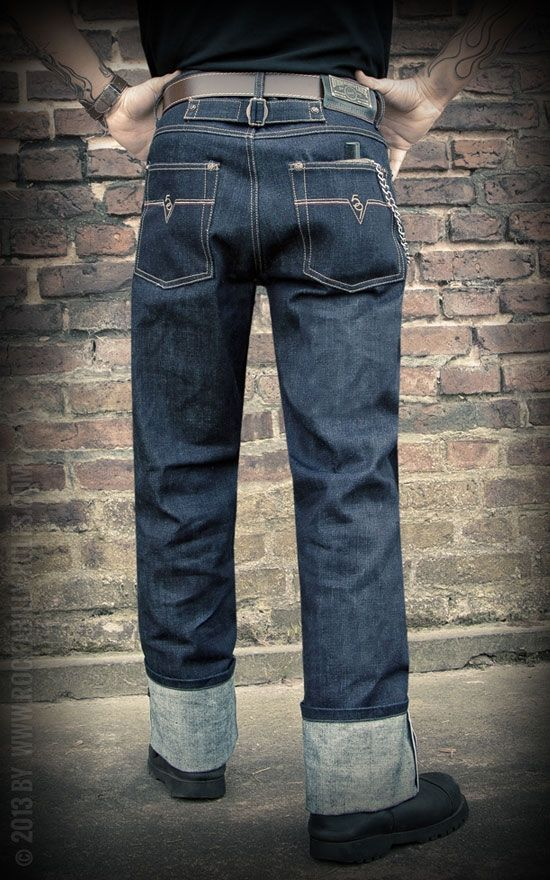 Rumble59 - Raw Japan Selvage Denim - 14,5 oz Japan Selvage Denim - Rockabilly-Rules.com