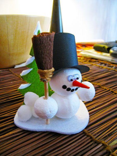 Pinterest le catalogue d 39 id es - Fabriquer un bonhomme de neige ...