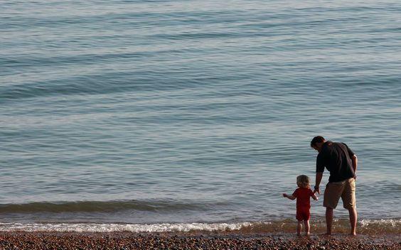Levar a paternidade a sério e dividir completamente as tarefas com a outra…