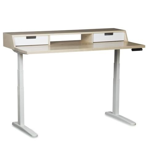 The Albright Mid Century Modern Adjustable Sit Or Standing Desk