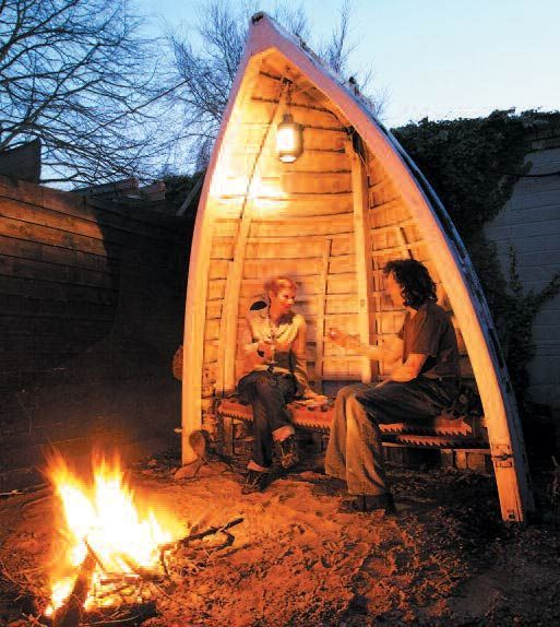 Take a look at these 10 beautiful ways to upcycle boats