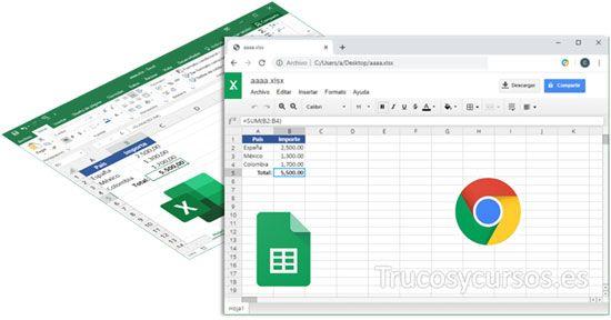 Ver Y Edita Archivos De Excel En Hojas De Cálculo De Google Hojas De Cálculo Calculadora Educacion Matematicas