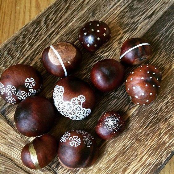 Décorer des marrons | Sakarton