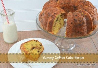 Yummy Coffee Cake Recipe by FoodStorageMoms