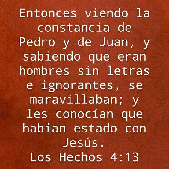 Hechos 4:13