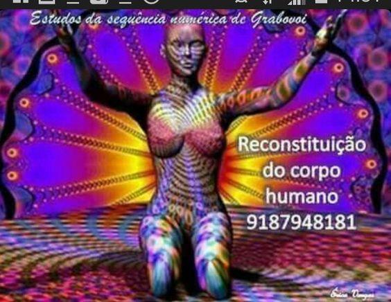 Reconstrução do corpo humano