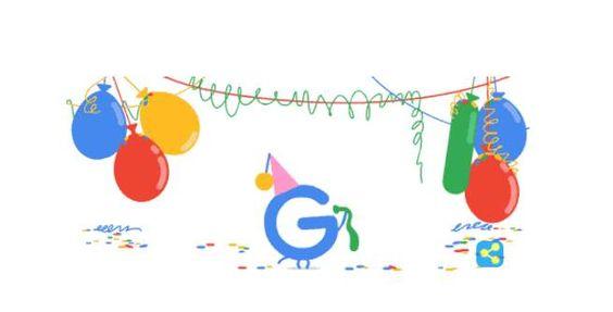 Google celebra sus 18 años de vida con el doodle del día https://t.co/KR1zETXPZT https://t.co/6O5tHSHXWX #CPMX8