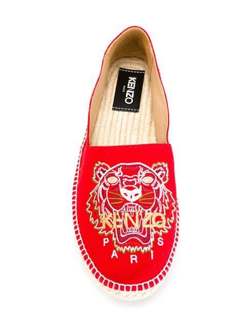 Купить Kenzo эспадрильи 'Tiger'  в Eraldo from the world's best independent boutiques at farfetch.com. 400 бутиков, 1 адрес. .
