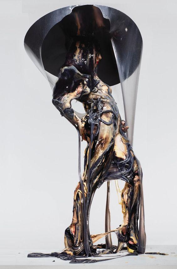 Bart Hess 'Slime Art' designed for Lady Gaga: