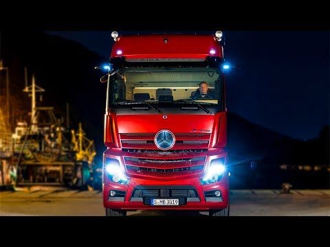 Mercedes Actros 2019 High Tech Truck Youtube With Images
