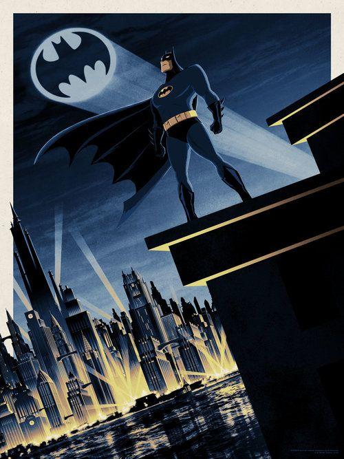 Batman Superman The Animated Series Art Of Matt Ferguson Batman Batman Poster Batman Comic Art