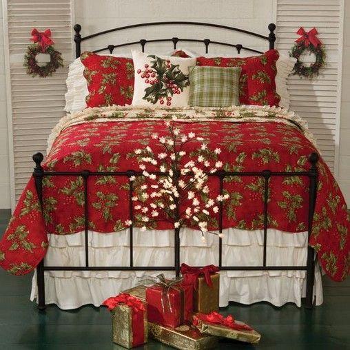 14 Amazing Christmas Bedroom Decor Ideas For Wonderful Bedroom 6 Christmas Bedroom Christmas Decorations Bedroom