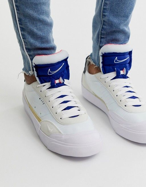 Nike Drop Type LX trainers in white