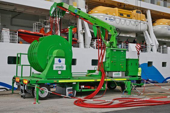 """AIDA Cruises, Vorreiter der Deutschen Kreuzfahrtindustrie im Umweltschutz, setzte sein Engagement zur Senkung der Emissionen auch in 2015 erfolgreich fort. """"Wir haben erneut wichtige Meilensteine i..."""