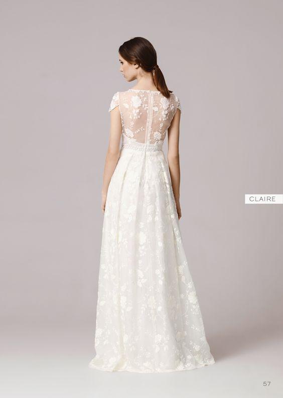 Suknie Slubne Anna Kara Cala Kolekcja 2016 Botanical Wedding Dress Wedding Dresses Dream Wedding Dresses