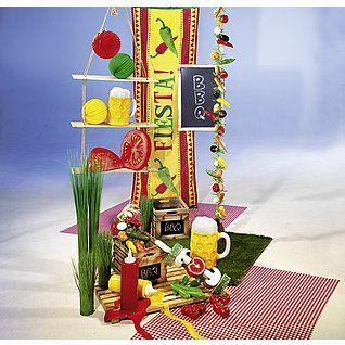 Dekoidee Fiesta http://www.decowoerner.com/de/Saison-Deko-10715/Sommer-10744/Komplette-Dekoideen-Sommer-11325/Dekoidee-Fiesta-642.217.00.html