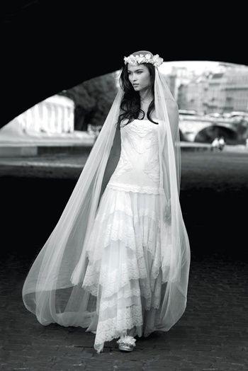 happy chantilly robe mariée bohème