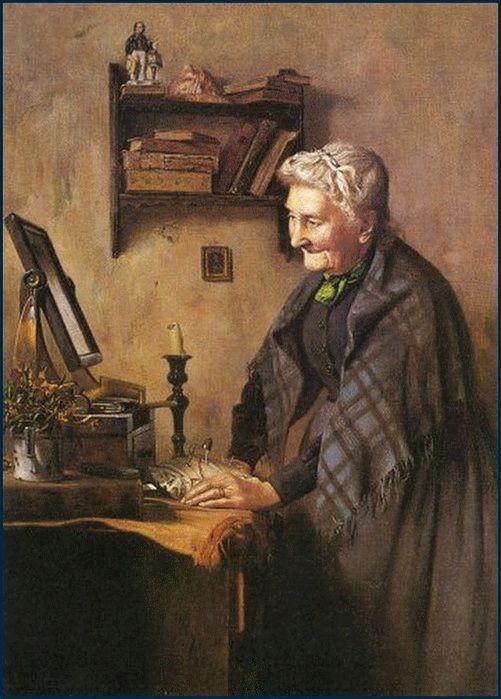 Charles Spencelayh (British, 1865-1958). Обсуждение на LiveInternet - Российский Сервис Онлайн-Дневников