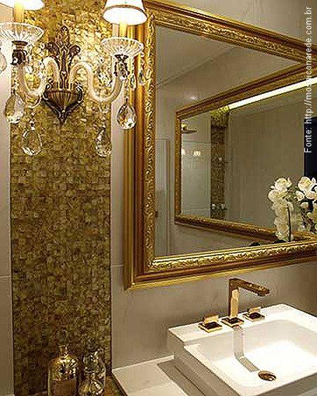 Ideias Para Decorar Banheiros Antigos : Lavabos banheiros cl?ssicos com espelhos antigos e