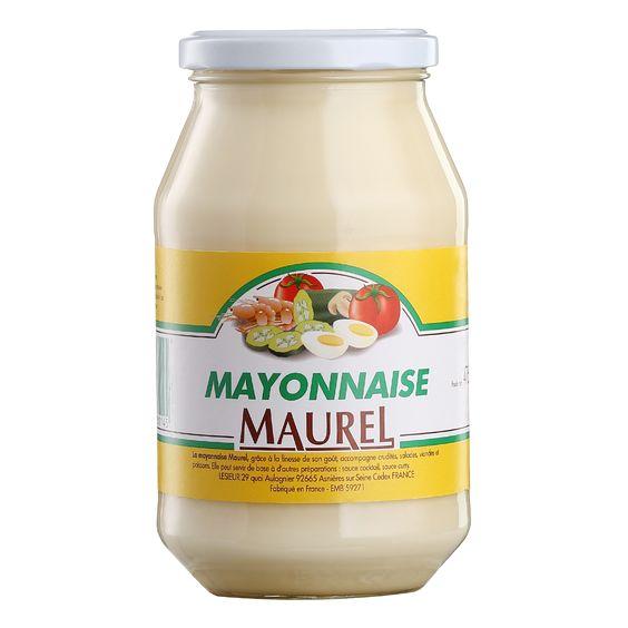 Sốt Mayonnaise Maurel - Hộp 465 Gram