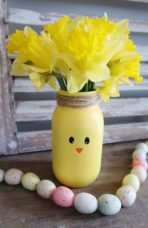 57 Admirable Diy Mason Jar Halloween Crafts Ideas Real Easy Easter Mason Jars Easter Crafts Diy Mason Jar Halloween Crafts