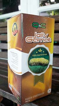 New QnC Jelly Gamat. Wanna to try?: