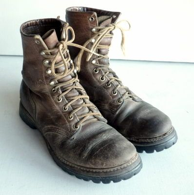 Vintage Red Wing IRISH SETTER Leather Work Hiking Boots - Women's ...