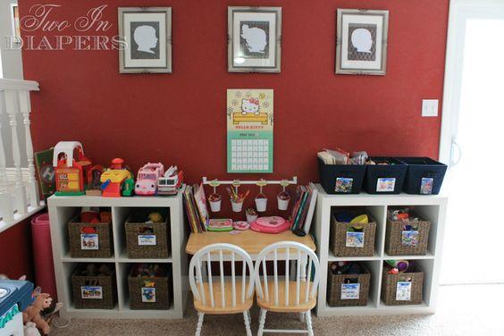 play room activity center idea