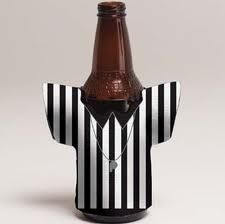 Don't neglect the umpire stripes while decorating this Superbowl Sunday!