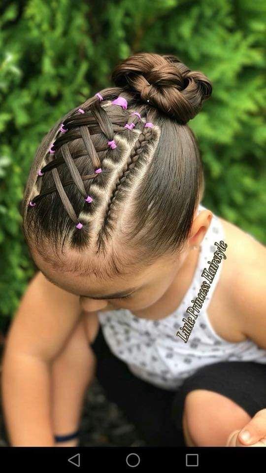 Fabulous Como Hacer Impresionantes Peinados Para Ninas Lil Girl Natural Hairstyles Runnerswayorg