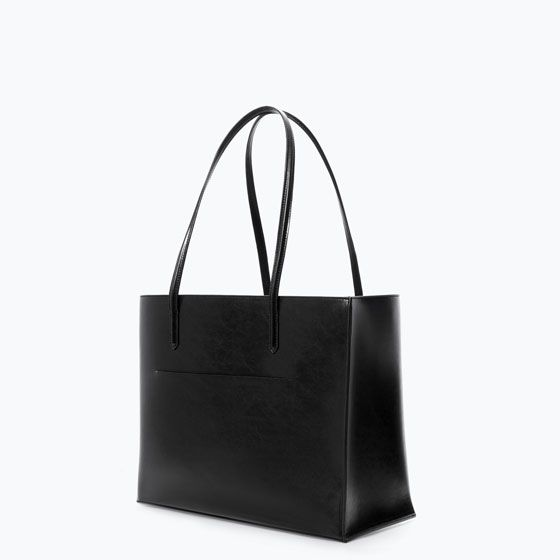 ZARA - DAMES - SHOPPER MET ZAK