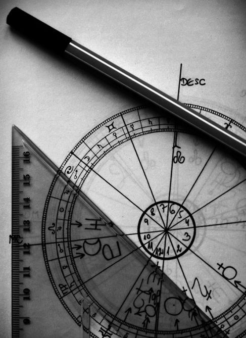Divination and Oracles ☽ Navigating the Mystery ☽ calculating an astrological chart is both a mathematical and an interpretive process, using both sides of the brain. www.AstroSpirit.com
