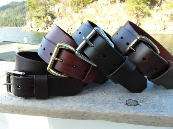 Classic Plain Leather Belt handmade in Canada. This gorgeous leather gets better with age and comes with a Lifetime Guarantee. SALE!