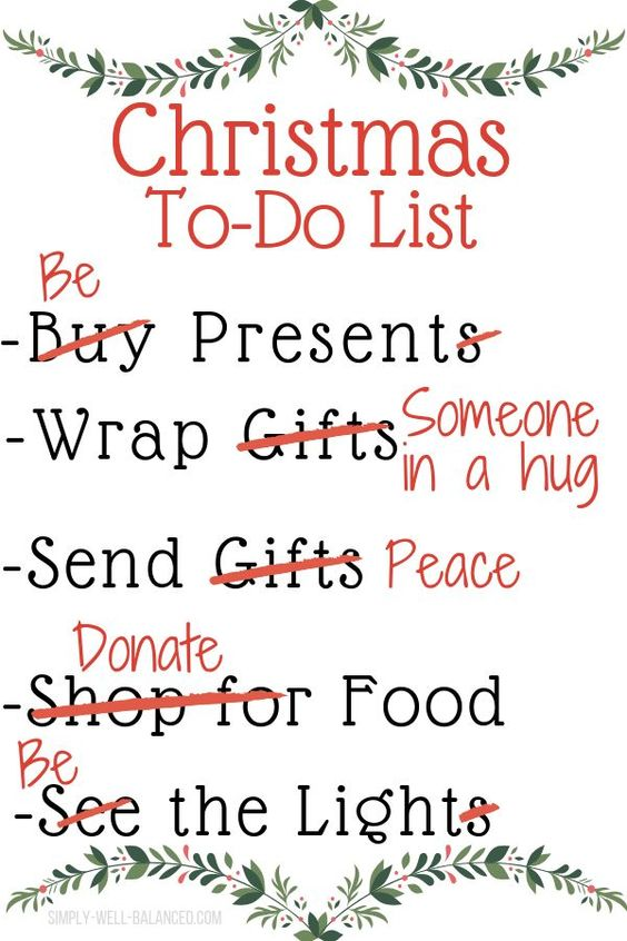 Minimalist quote for a simple, meaningful and clutter free holiday. Simple reminders of what the holidays are all about. Sending peace and love this Christmas with these tips to simplify the holidays and focus on the reason for the season. #simpleliving #minimalism #christmas