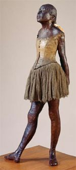 "Edward Degas - ""Little Dancer Aged Fourteen"" - Art Institute of Chicago"