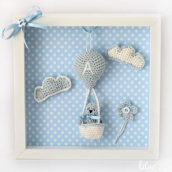 Luty Artes Crochet: Quadros de amigurumi para quarto infantil ... | 564x564