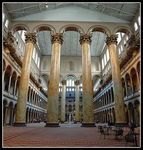 Foyer Museum Washington Dc : Great hall of the national building museum washington dc
