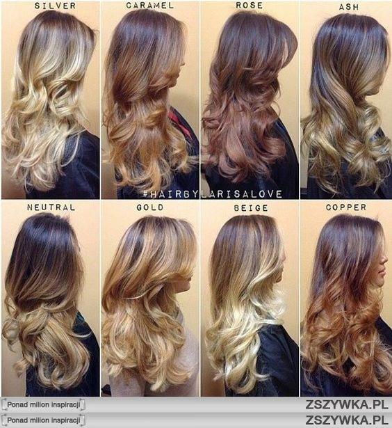 Sombre Kr 243 Tkie Włosy Szukaj W Google Hairs Pinterest