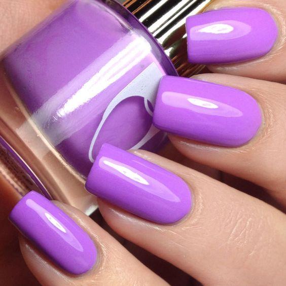 Floss Gloss Lean Nail Polish from Live Love Polish. Saved to Nail Polish. #cute #purple.
