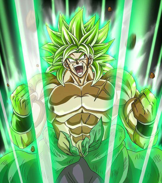 Broly S Age Dragon Ball Art Dragon Ball Artwork Dragon Ball Goku