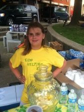 """A story from Ohio. Allison is 10 & made $272 with her lemonade stand.     """"I learned to be an entrepreneur and I think that's what I want to be when I grow up,"""" says Allison."""