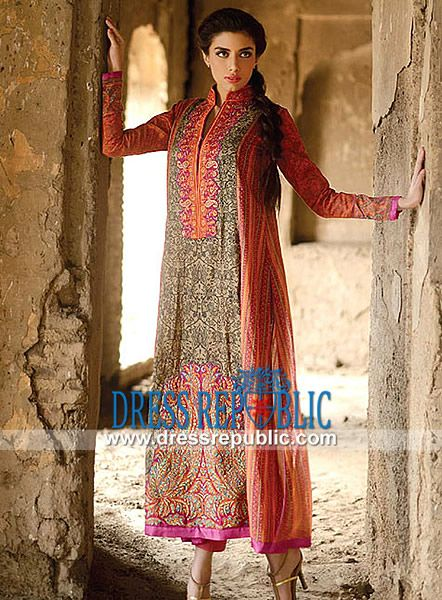 Sana Safinaz Lawn Collection 2014 for Women by www.dressrepublic