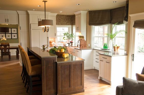 Nw Contemporary Kitchen Remodel Portland Oregon Window Treatments Warm And Photo Galleries