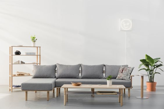 The Felix Collection--made with Baltic Birch Plywood, Ash Hardwood, and powder-coated steel, which ensures the furniture will last 10-15 years.