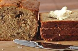 this is the ONLY banana bread recipe i use! and i must say, people say its the best. changes: i use 5 bananas, a bit more cinnamon than is called for and some nutmeg. go make this now.