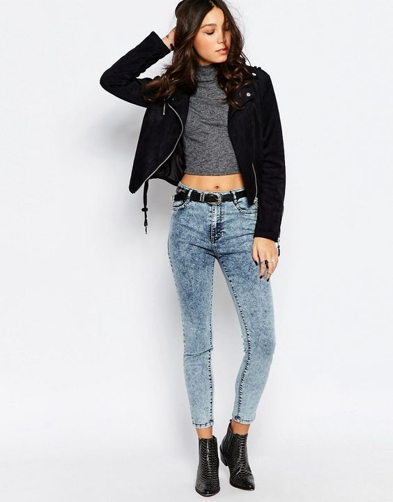 Immagine 4 di Pimkie - Jeans lavaggio acido