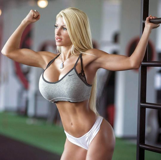 fitness models with big tits
